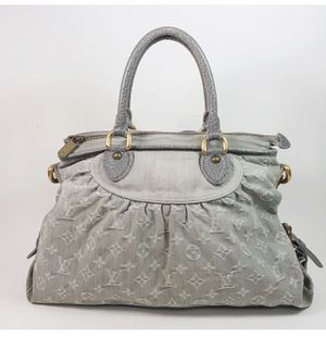 AUTHENTIC LOUIS VUITTON NEO CABBY GM MONOGRAM DEMIN GRAY HAND BAG for Sale in Fresno, CA