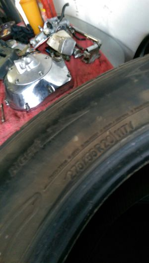 100 for these tires. for Sale in Enid, OK