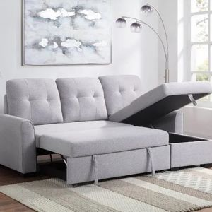 Naomi Collection Storage sofa/sleeper sectional sofa $1,069.00 Holiday Sale ! In Stock! Free Delivery 🚚 for Sale in Ontario, CA