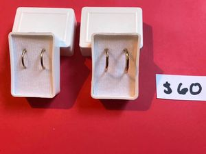 Gold 10k small hoops for Sale in Dinuba, CA