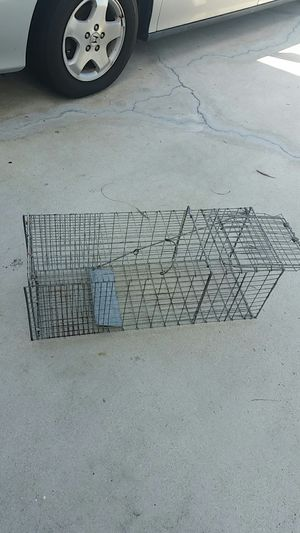 Animal trap galvanized for Sale in Port St. Lucie, FL