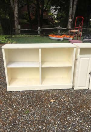 Bookshelves / storage unit for Sale in Tacoma, WA