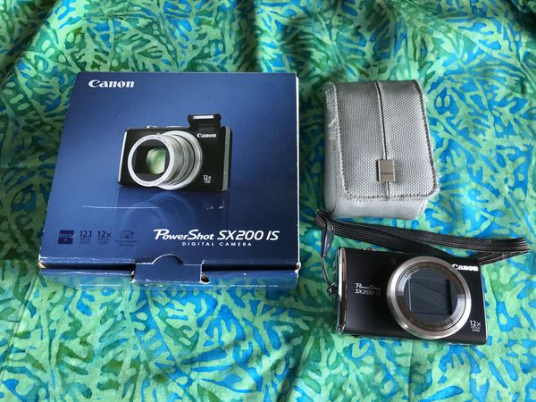 Canon Powershot sx200 Digital Camera