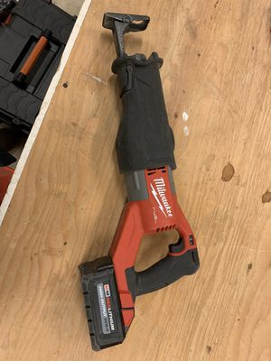Milwaukee super sawzall for Sale in Portland, OR