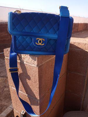Blue Chanel bag for Sale in Las Vegas, NV