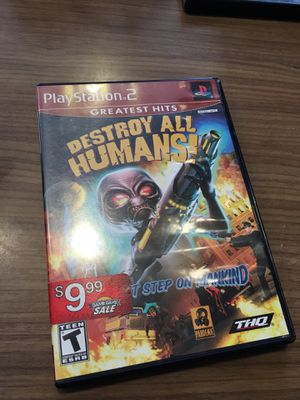 Destroy all Humans for the Ps2 for Sale in Silver Spring, MD