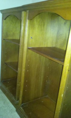 Solid Wood Bookshelves for Sale in Houston, TX