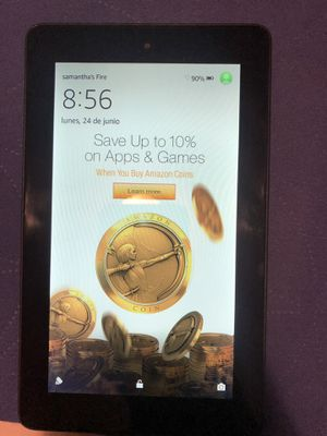 Kindle fire amazon tablet for Sale in Wilkes-Barre, PA