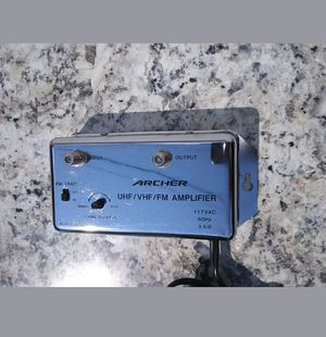 Archer UHF/VHF/FM Amplifier for Sale in NORTH PRINCE GEORGE, VA