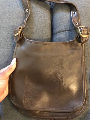 Women's Vintage Coach Saddle purse (brown) for Sale in Detroit, MI