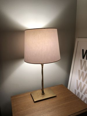 Set of 2 Anthropologie bedside lamps for Sale in New York, NY