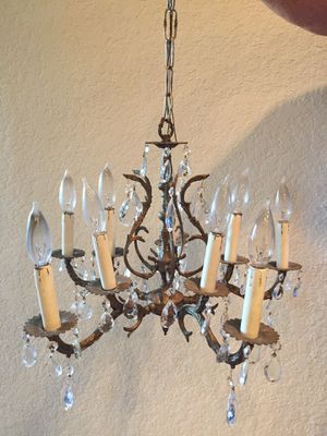 Chandelier ready to funk-ify! for Sale in San Antonio, TX