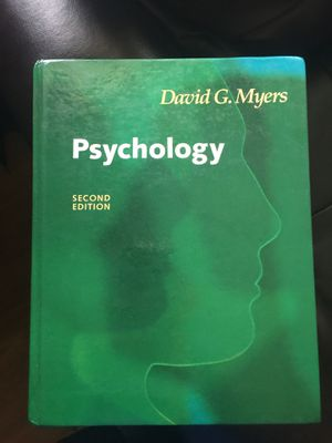 Psychology second edition by David G. Myers for Sale in Woodbridge, VA