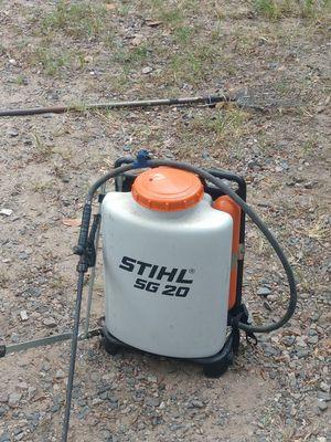 Stihl back pack sprayer for Sale in Magnolia, TX