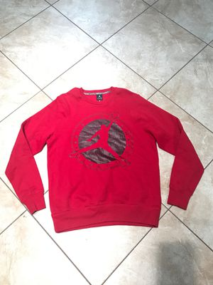Jordan Men's pullover Sweat Shirt Size Large $30 for Sale in Riverside, CA
