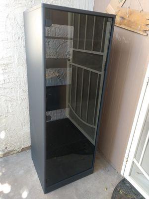 Glass Front AV Media Stereo Game Rack Cabinet • for Sale in Chandler, AZ