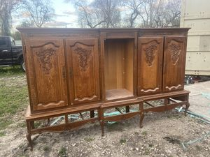 Antique old handmade carved furniture for Sale in Houston, TX
