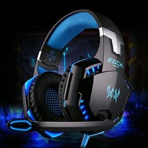 Blue LED Gaming Mic Headset Headphones for Sale in Palo Alto, CA