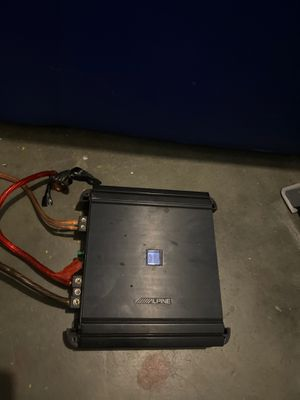 Alpine 500w Amplifier for Sale in Lathrop, CA