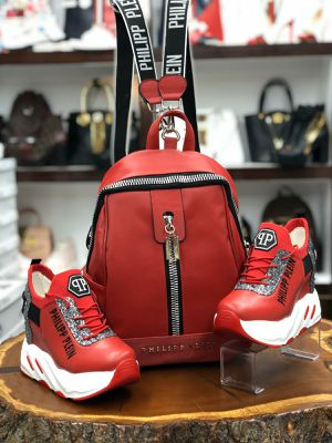 Backpack and shoes for Sale in Burtonsville, MD