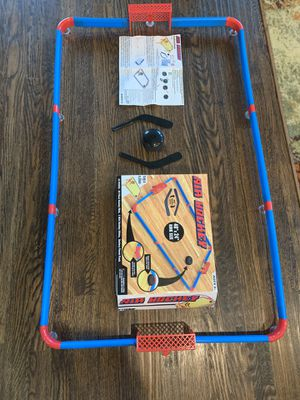 Air Hockey on the smooth floor / glass table for Sale in Frisco, TX