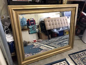 Golden mirror 48 width 67 height for Sale in San Diego, CA