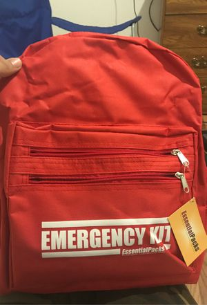 Emergency earthquake kit for Sale in Oakland, CA