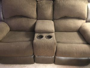 2 seat + 3 seat Reclining Sofas. for Sale in Wilmington, DE