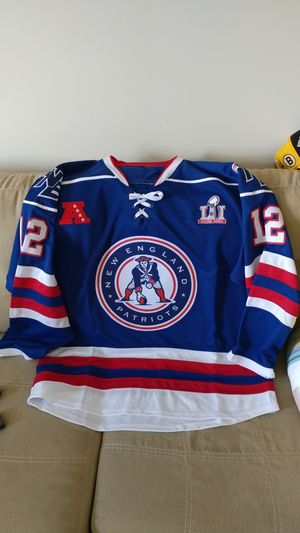 New England Patriots hockey jersey for Sale in Boston, MA