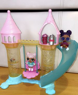 LOL Dolls and Swing/ Slide Playset for Sale in Los Angeles, CA