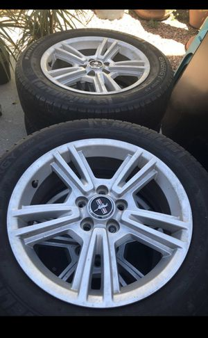 OEM mustang rims and tires for Sale in San Diego, CA
