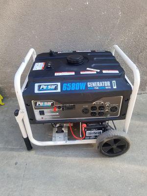 GENERATOR Pulsar PG6580E Electric Push Start with Battery 6,580 Peak Watts/5,500 Running Watts for Sale in Pomona, CA