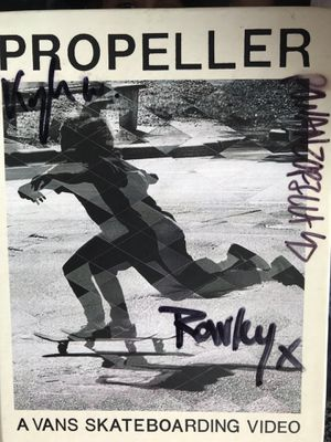 Propeller signed book n dvd. for Sale in Hamilton Township, NJ