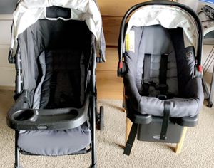 Graco car seat and stroller for Sale in Winfield, IL