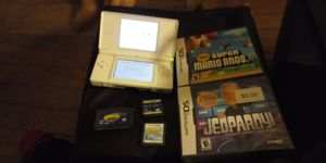 Nintendo DSI with 4 games for Sale in Providence, RI