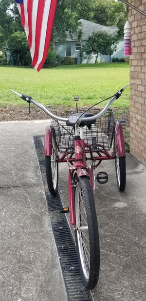 Schwinn Meridian Adult Tricycle Excellent 26 wheels for Sale in Clermont, FL