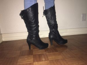 Black 3 Inch Heeled Boots for Sale in Anaheim, CA