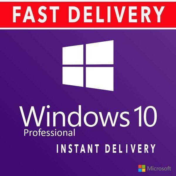 Windows 10 Pro Install/Upgrade! Lifetime Activation Key