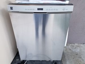 Kenmore Mod. 665 Dishwasher Stainless Steel for Sale in Fresno, CA