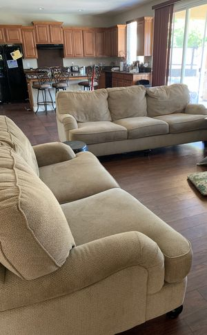 Sofa and love seat for Sale in Sanger, CA