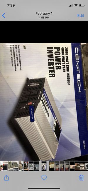 2000 watt power inverter , brand new in box for Sale in Houston, TX