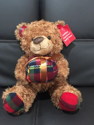 Holiday stuffed bear plush for Sale in Fullerton, CA