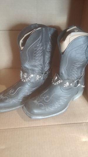 Ariat mens skull boots for Sale in Farmington, IL