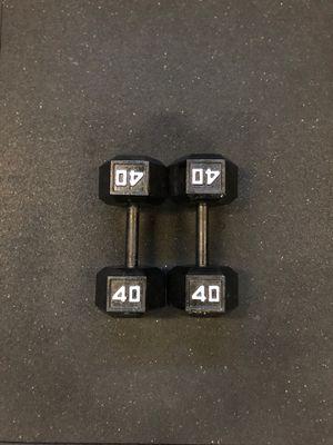40lb Dumbbells - (Exercise, Gym) for Sale in Clovis, CA