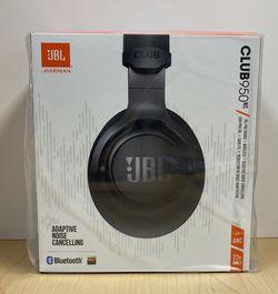 NIB JBL Club 950NC Black Wireless Noise Cancelling Over-Ear Headphones for Sale in Bentonville,  AR