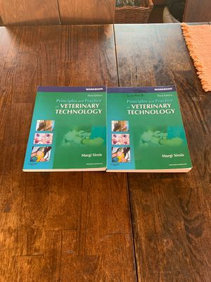Veterinary technology books - workbook only for Sale in Haddam, CT