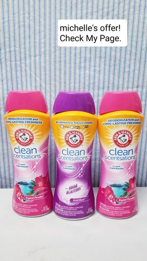 Arm & hammer Clean scentsations 24oz set for Sale in Temple Hills, MD