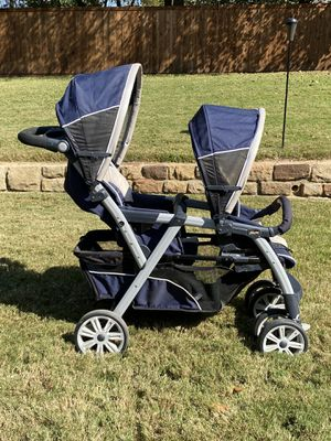 Chicco Cortina Together Double Stroller for Sale in Flower Mound, TX