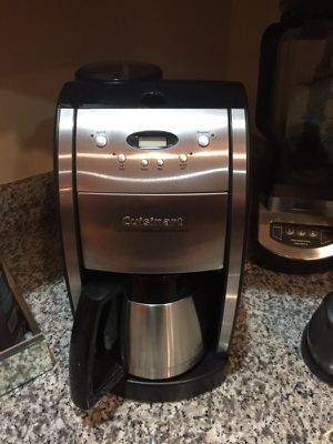 Cuisinart DGrind & Brew, Brushed Chrome Coffee Maker for Sale in Washington, DC