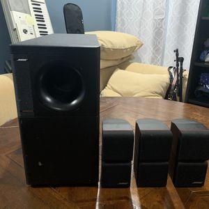 Bose Speaker system (Best Offer) for Sale in Weehawken, NJ